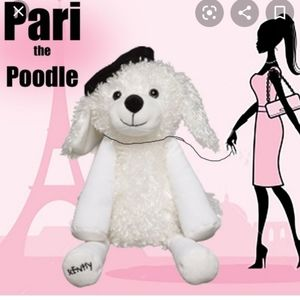 Pari the poodle Scentsy buddy